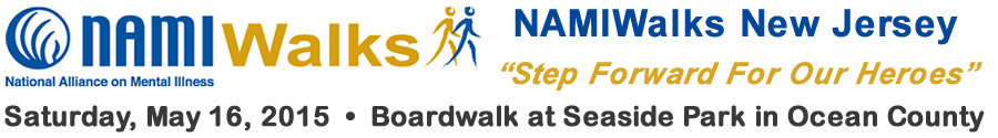 2015 NAMIWalks New Jersey