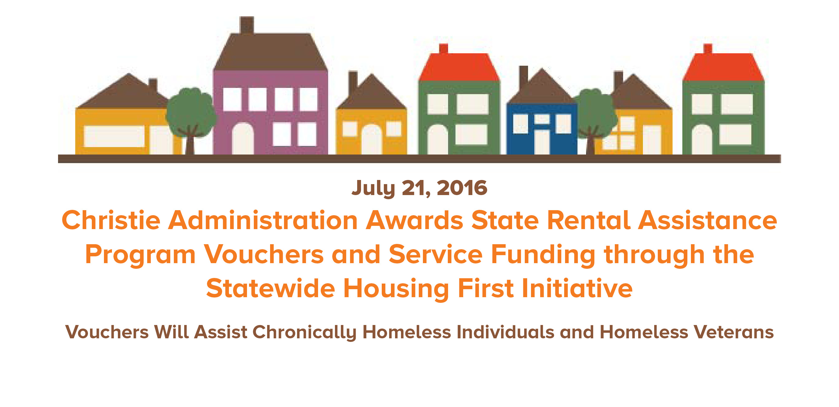 NJ AWARDS STATE RENTAL ASSISTANCE VOUCHERS AND SERVICE FUNDING