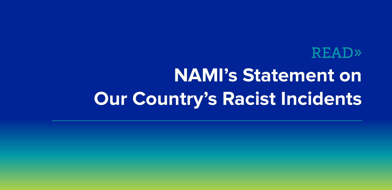 NAMI Statement on Racism