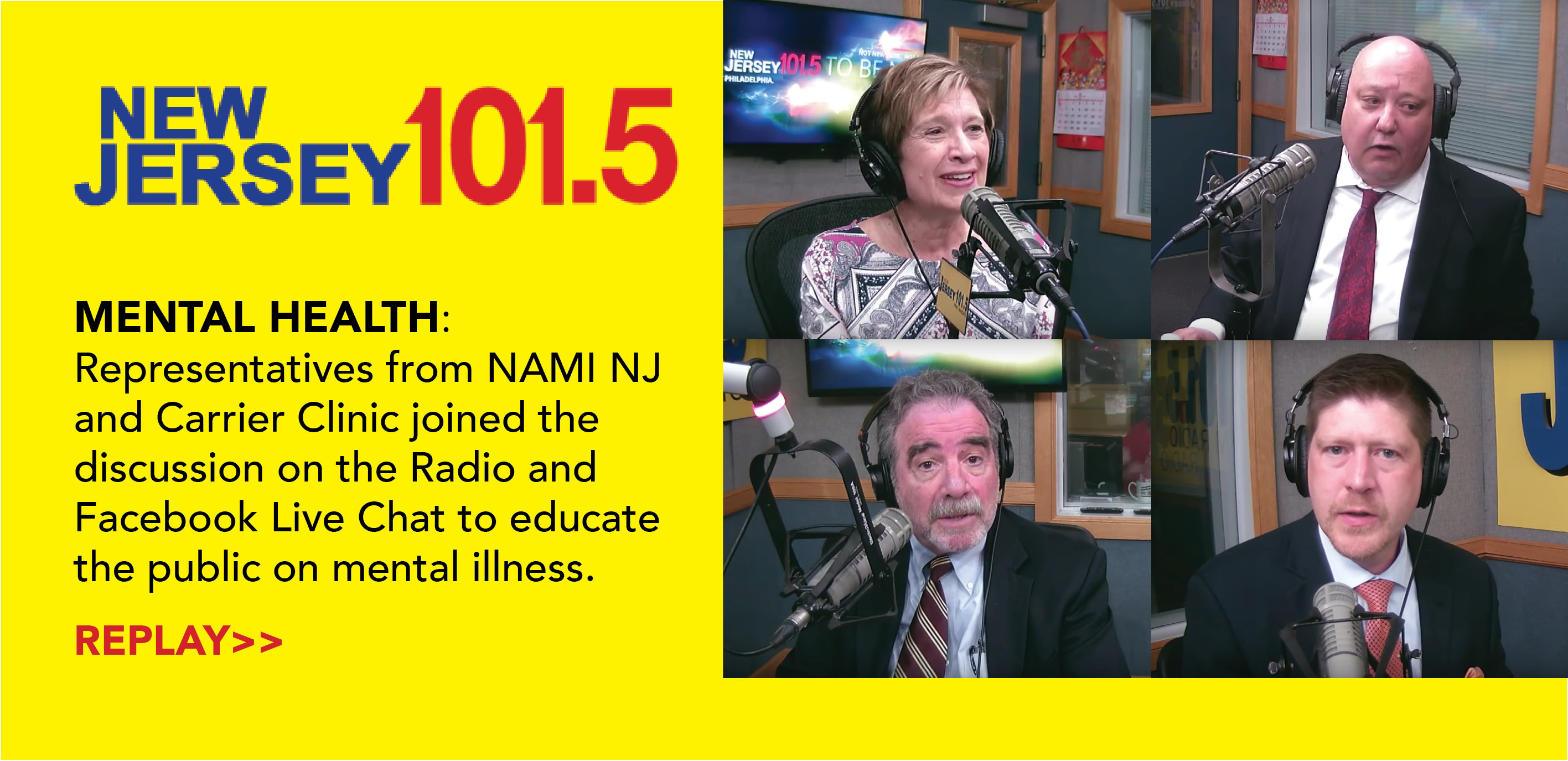 101.5 Mental Health Discussion